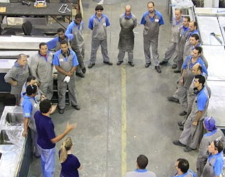 Wikimedia Commons/training_meeting_in_a_ecodesign_stainless_steel_company_in_brazil.jpg/by Alex Rio Brazil/CC-BY-3.0